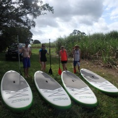 Safety Briefing Before Starting | Port Douglas Stand Up Paddle Boarding