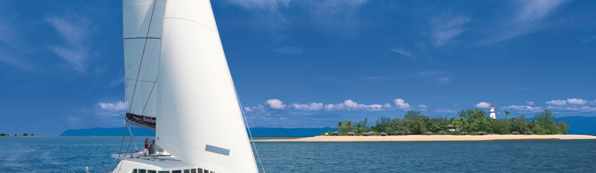 Sail on a luxury private charter yacht on the Great Barrier Reef in Australia