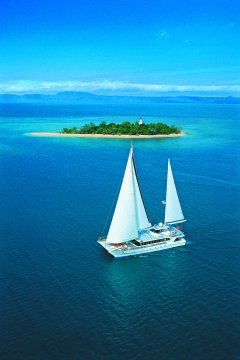 Sail To Low Isles On The Great Barrier Reef | Day Trips Departing Daily From Port Douglas