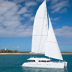 Sunset sailing tours for Port Douglas Wedding Groups