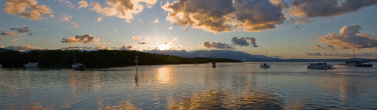 Adults Only Sunset sailing tour Port Douglas Queensland Australia