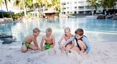 Sandy Lagoon Swimming Pool great for families - Peppers Beach Club & Spa Palm Cove Resort