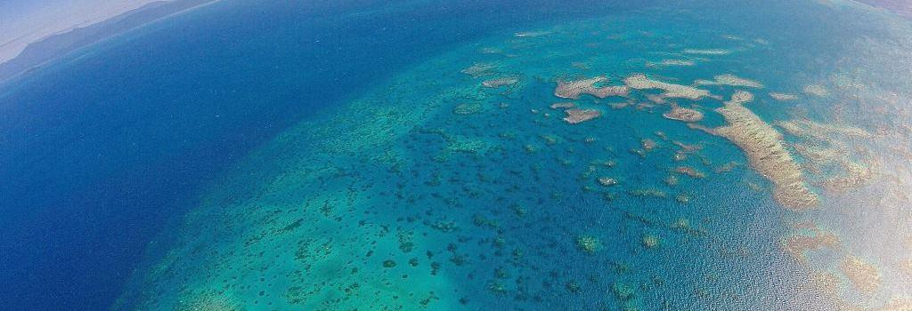Scenic flights over the Great Barrier Reef, Rainforests and Outback Queensland Australia