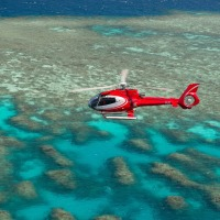 Scenic Reef Helicopter Flight