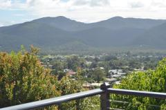 Scenic views looking out to the Atherton Tablelands