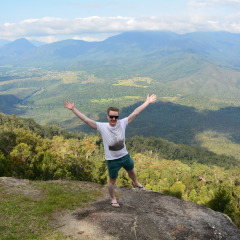 Scenic Views on our Atherton Tablelands Hiking Tours