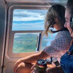 Scenic views on your helicopter flight between pubs Atherton Tablelands