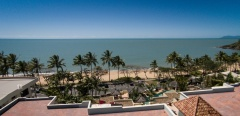 Enjoy Ocean views from Sea Change Beachfront Apartments at Trinity Beach