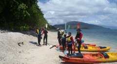 Sea Kayak Adventure Package at Snapper Island
