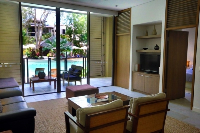 Sea Temple Palm Cove Swimout and Verandah room