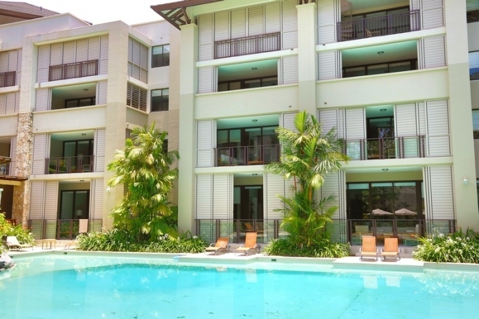 Sea Temple Palm Cove Swimout Apartment from Lagoon Pool