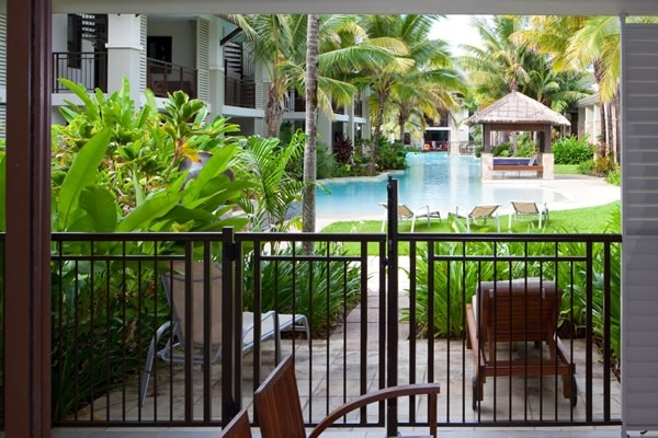 Private Apartments - Some feature Direct lagoon pool access in the Sea Temple Resort complex