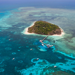See Green Island From Cruising There | Great Barrier Reef Scenic Flight & Green Island Combo All In One Day