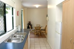 Self Contained Kitchen Facilities in 1 & 2 Bedroom Apartments