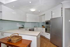 Self Contained Kitchen Facilities perfect for families on holiday