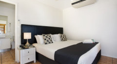 Separate Bedroom in Suites with King or 2 Single Beds
