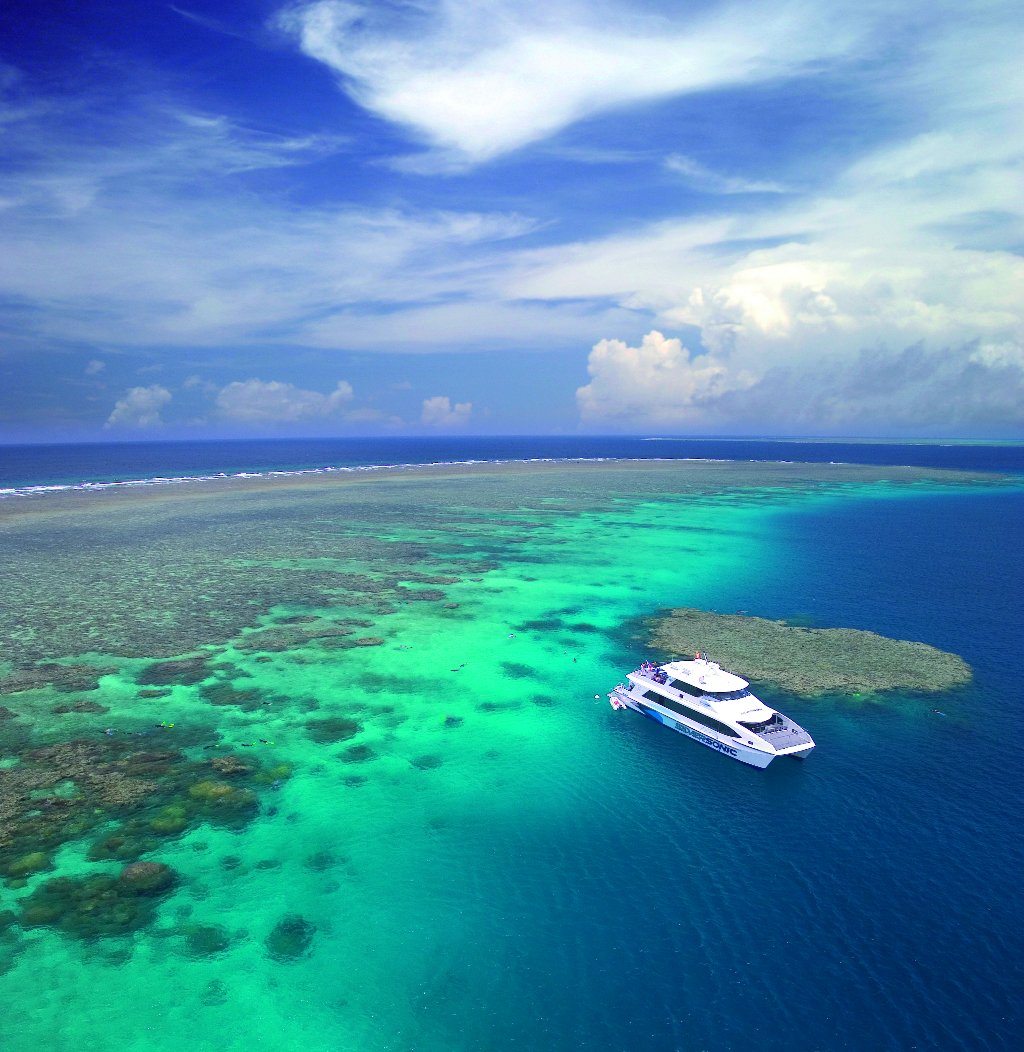 Great Barrier Reef Turer og aktiviteter - snorkling, dykking, Cruising, Sightseeing, Cruise