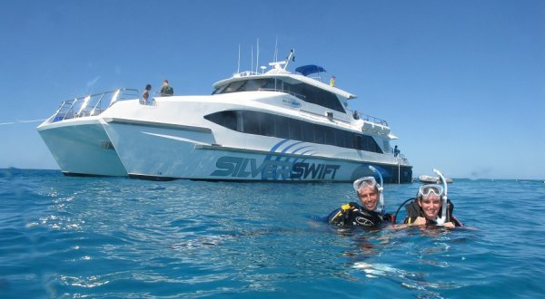 Most popular snorkel & dive tour from Cairns in Queensland Australia