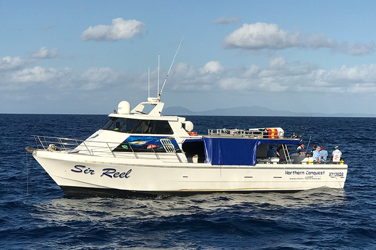 cairns ultimate fishing charter day night great barrier reef