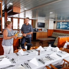 Sit anywhere you wish on our Great Barrier Reef Cruise Ship