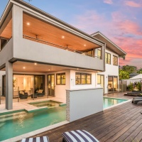 Port Douglas Holiday Home -Sit back and relax by holiday homes heated swimming pool