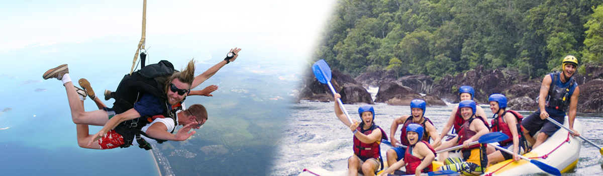Cairns Skydive PLUS Rafting Combo Tour