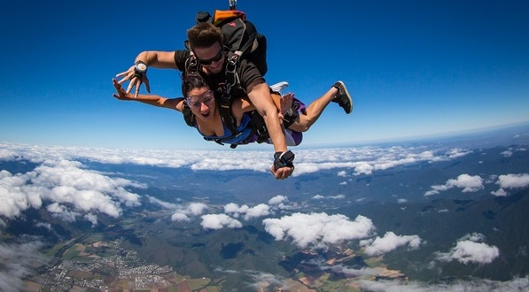 Skydiving Above Cairns - Canyoning Combo