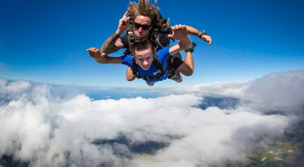 Skydiving Above Cairns - Rafting Combo