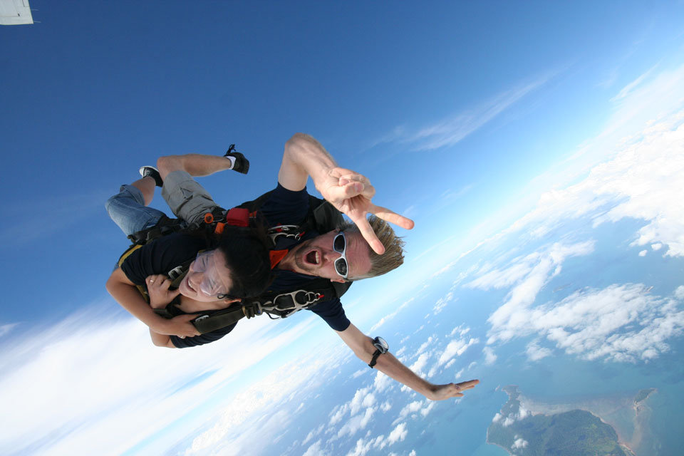 Skydive Cairns |Jump for your Life | New Night Skydive | On Sale