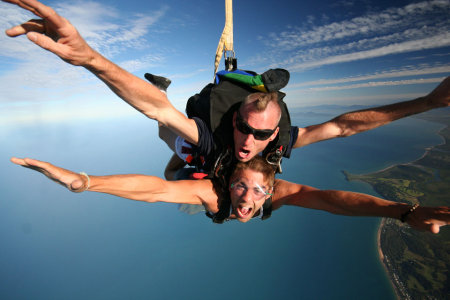 Skydiving in Cairns Far North Queensland
