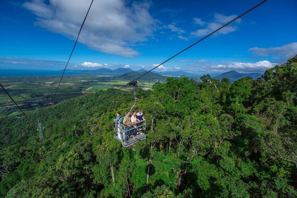 Cairns Attractions   Skyrail & Kuranda Scenic Railway