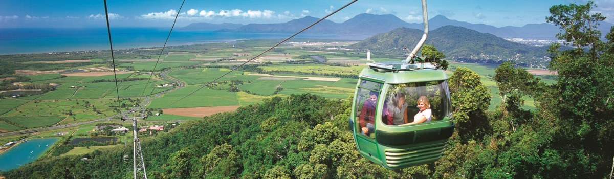 The cheapest Kuranda Skyrail & Kuranda Train Tour in Cairns