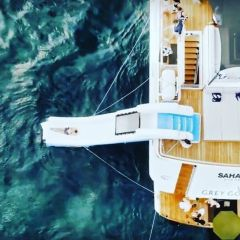 Superyachts Great Barrier Reef - Slide into the Great Barrier Reef from your luxury Superyacht