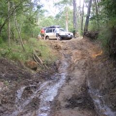 Slippery Tracks Make More Fun - Billabong - Cairns to Cape York 4WD Tour