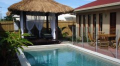 Private Plunge Pool with Gazebo - Palm Cove Holiday Villa