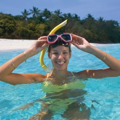 Snorkel on Green Island Cairns Queensland Australia