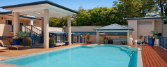 Solar heated Swimming Pool at Newport Port Douglas