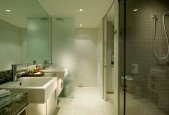 Spacious Bathroom - Adults Resort Apartments Port Douglas