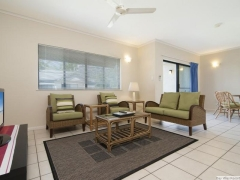 Port Douglas Resort Spacious living areas in the apartments