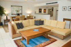 Spacious Living in all Apartments - Mandalay Luxury Beachfront Apartments Port Douglas