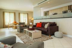 Spacious Lounge and Living Areas at Sea Change Beachfront Apartments