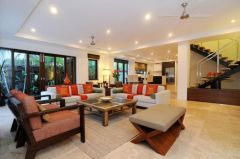 Sea Temple Port Douglas Private Let Villa - Spacious open plan luxury living