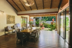 Spacious Outdoor Dining Areas - Port Douglas Holiday Home
