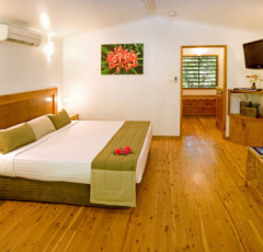 Spacious Rooms with King Bed