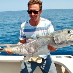 Fishing On The Great Barrier Reef From Cairns | Private Charter Boat | Spanish Mackeral