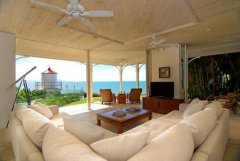 Spectacular 2nd Living Room with Ocean Views - Luxury Port Douglas Holiday Home