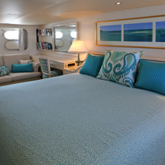Spend a day or even spend a few nights aboard with us on the reef