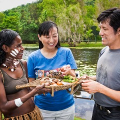 Spend time with Aboriginal on Cultural Park tour in Cairns
