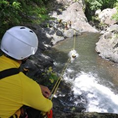Splashdown on Zipline - Cairns Package Tour