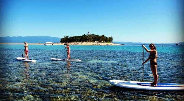 Stand Up Paddle boarding Low Isles | Great Barrier Reef